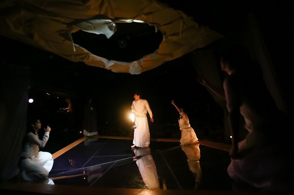 『芥川龍之介 地獄変』舞台写真