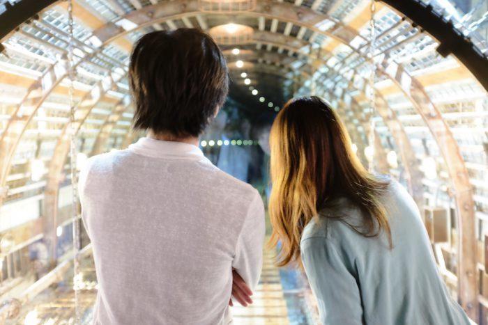 マーク・フスティニアーニ《トンネル》2016 ヨコハマトリエンナーレ2017展示風景