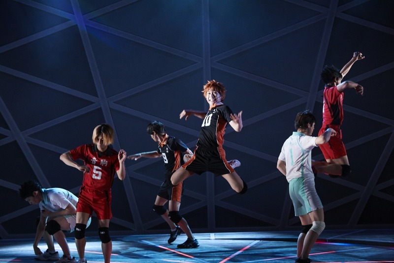 (C)古舘春一/集英社・ハイパープロジェクション演劇「ハイキュー!!」製作委員会 Photo by Shunsuke Watabe