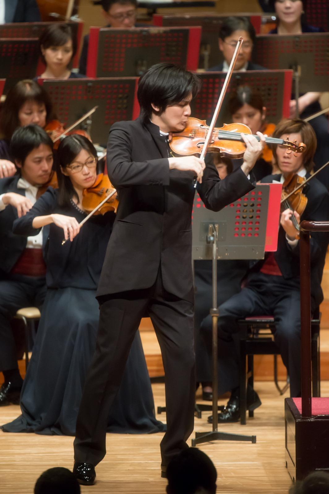 若き才能の熱演は大先輩の門出に花を添えた(3月26日公演より) (c)池上直哉/東京交響楽団