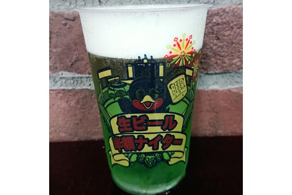 16入口にある「HUB」では、「ハイネケングリーンビール」を350円で販売