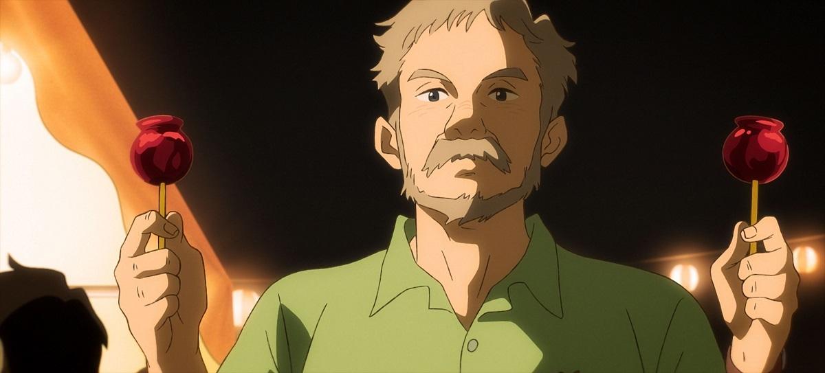 竹中直人が演じるハマモトさんのお父さん