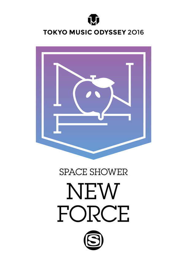 「SPACE SHOWER NEW FORCE」ビジュアル