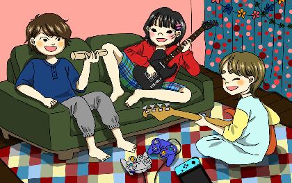 SHISHAMO、新曲「明日はない」「妄想サマー」を連続で配信決定 リリックビデオも公開に