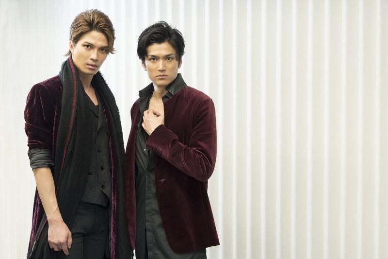 (左から)広瀬友祐、渡辺大輔