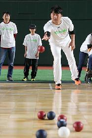 ジャイアンツ選手と一緒にパラスポーツを体験! 3/3は『G handsデー』