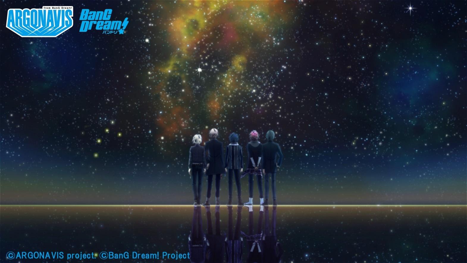 Argonavis「ゴールライン」アニメーションミュージックビデオ~short Ver.~より (C)ARGONAVIS project. (C)BanG Dream! Project