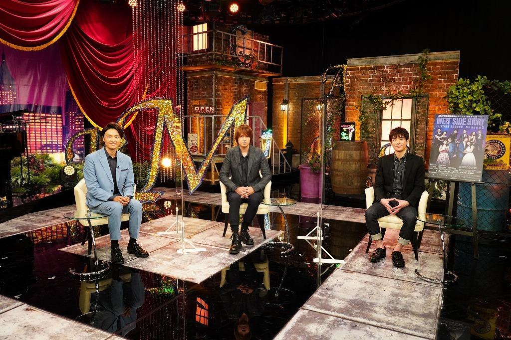 (左から)井上芳雄、浦井健治、柿澤勇人