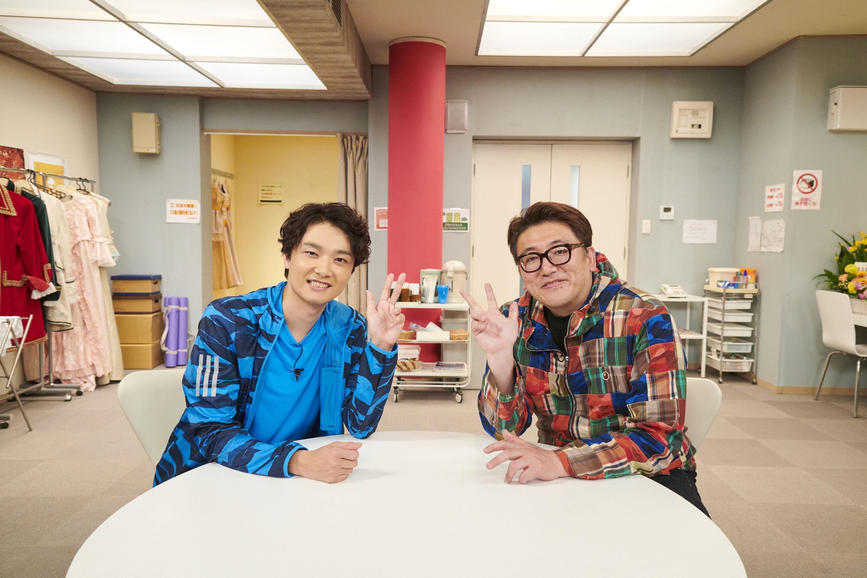 (左から)井上芳雄、福田雄一