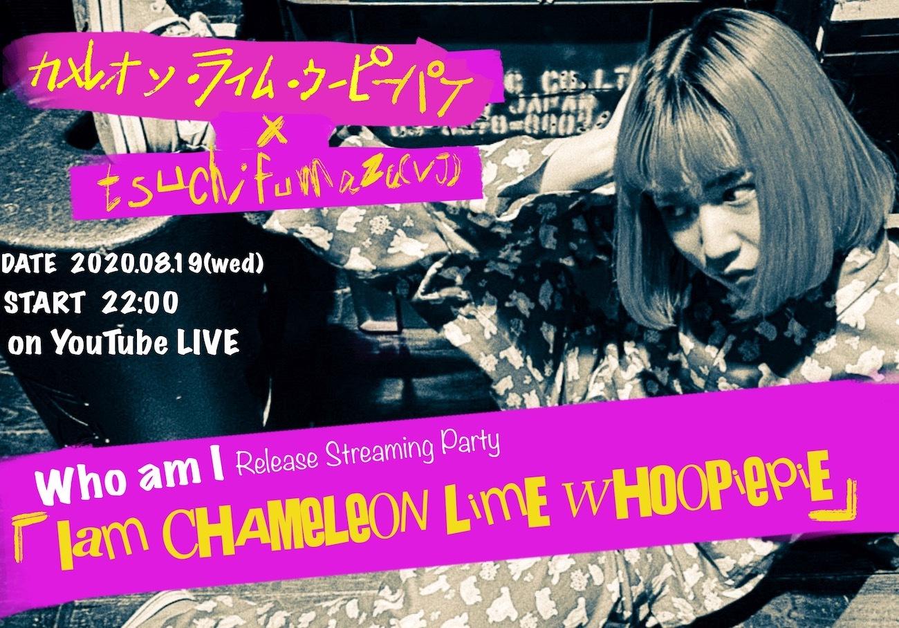 カメレオンライムウーピーパイ × tsuchifumazu(VJ) Who am I Release Streaming Party 『I am CHAMELEON LIME WHOOPIEPIE』