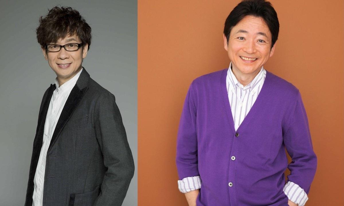 山寺宏一(シャーロック・ホームズ役)、水島裕(ワトソン役)