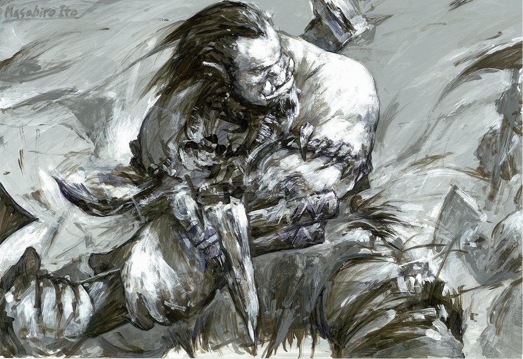 ゲームデザイナー伊藤暢達氏が描いた『ウォークラフト』の主人公・デュロタン