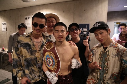 AK-69、日本人初のボクシング4階級王者・井岡一翔に歌でエール