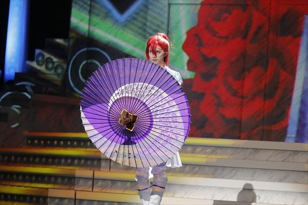 太刀花ユキノジョウ/舞台『KING OF PRISM -Shiny Rose Stars-』ゲネプロよりゲネプロより