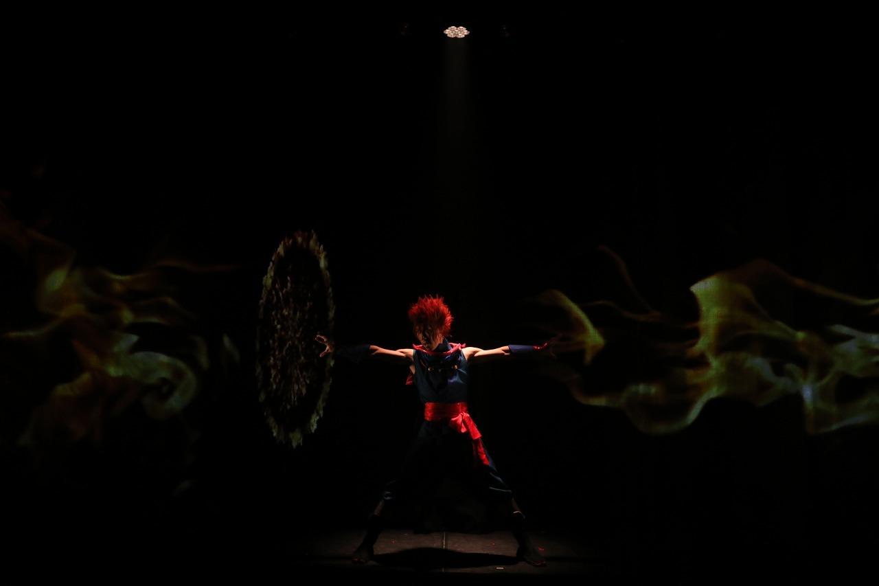 YU-KI(SIRO-A)   (C)真 Ninja Illusion LIVE The REAL  撮影:Shinsuke Yasui