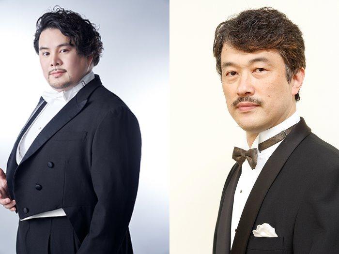 (左)宮里直樹(撮影:深谷義宣auraY2) (右)三浦克次