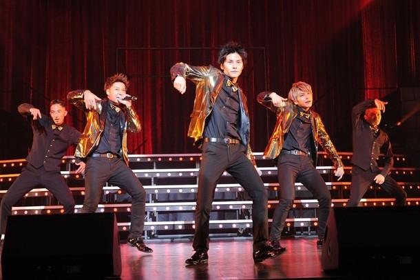 Lead「Lead Upturn 2016~THE SHOWCASE~」中野サンプラザホール公演の様子。 (写真提供:ポニーキャニオン)
