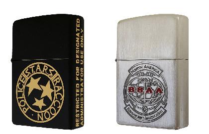 バイオハザードZippoライター「S.T.A.R.S.メダリオン」「BSAA」ロゴ入りデザイン発売決定
