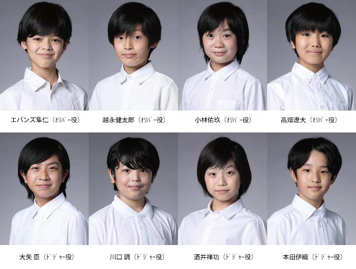 ミュージカル『オリバー!』、オリバー役を含む総勢54人の子役キャスト ...