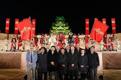 大阪城で開催中『戦国・ザ・リアルat大坂城』に12ヶ国の総領事も感激