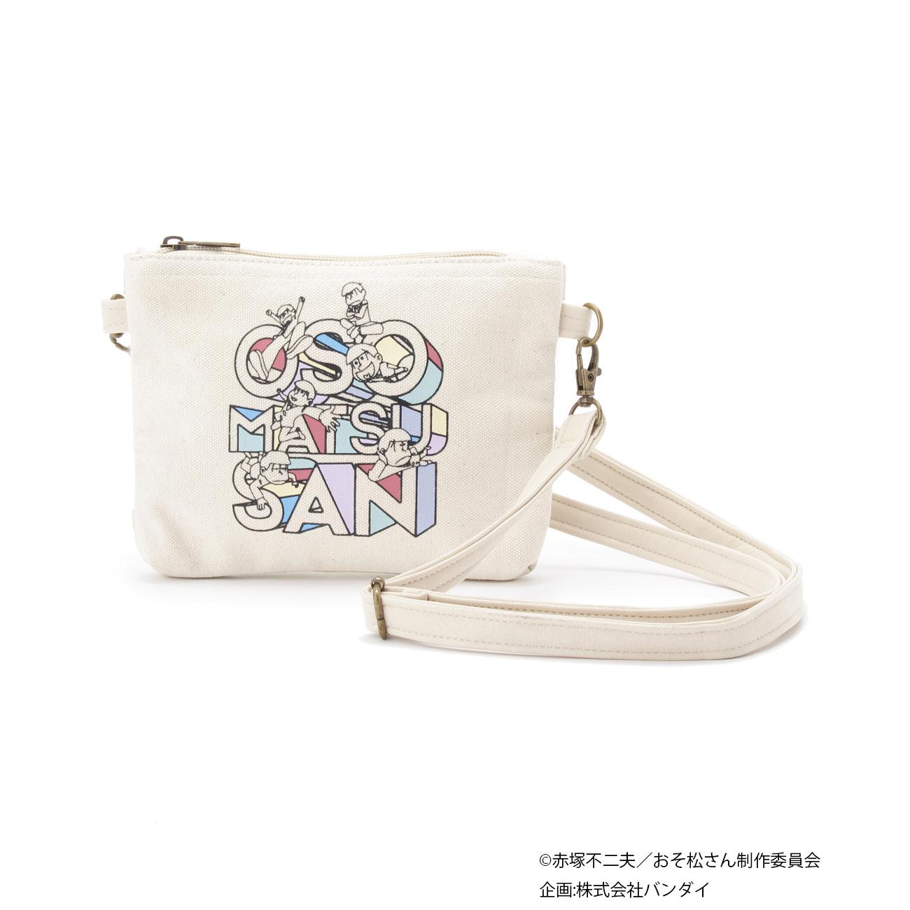 おそ松さん携帯ポーチ ¥2,990/ホワイト・ブルー系