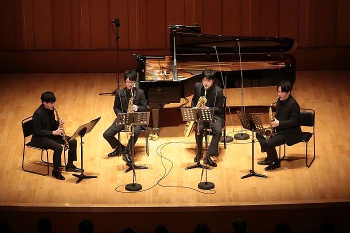 The Rev Saxophone Quartet(撮影:中村義政)