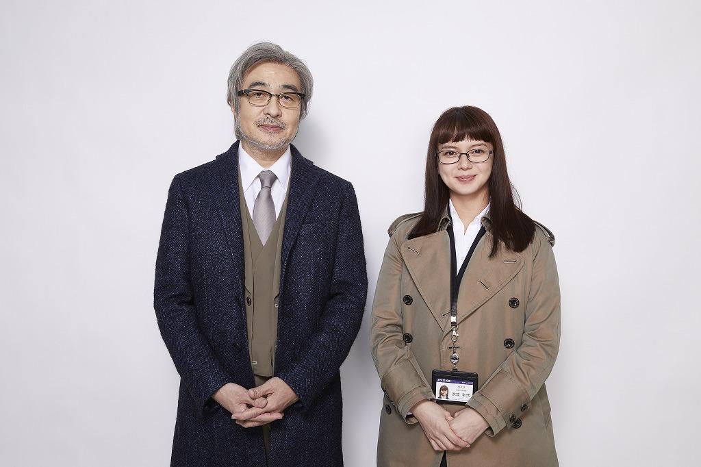 (左から)松尾スズキ、多部未華子