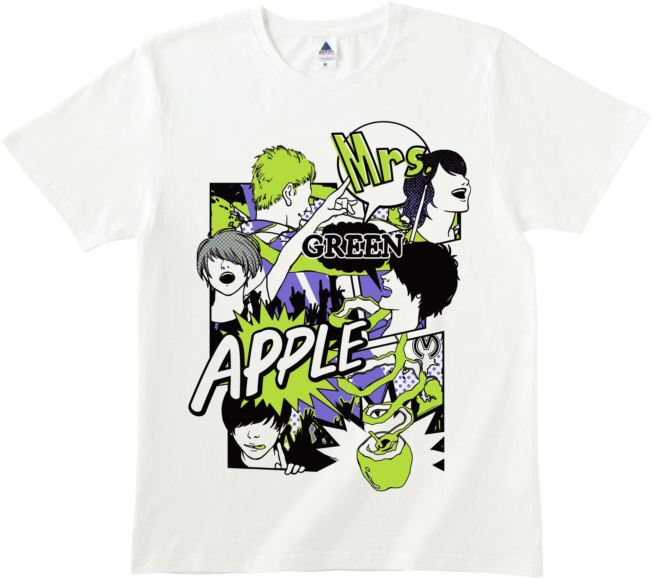 Mrs. GREEN APPLE 限定Tシャツ