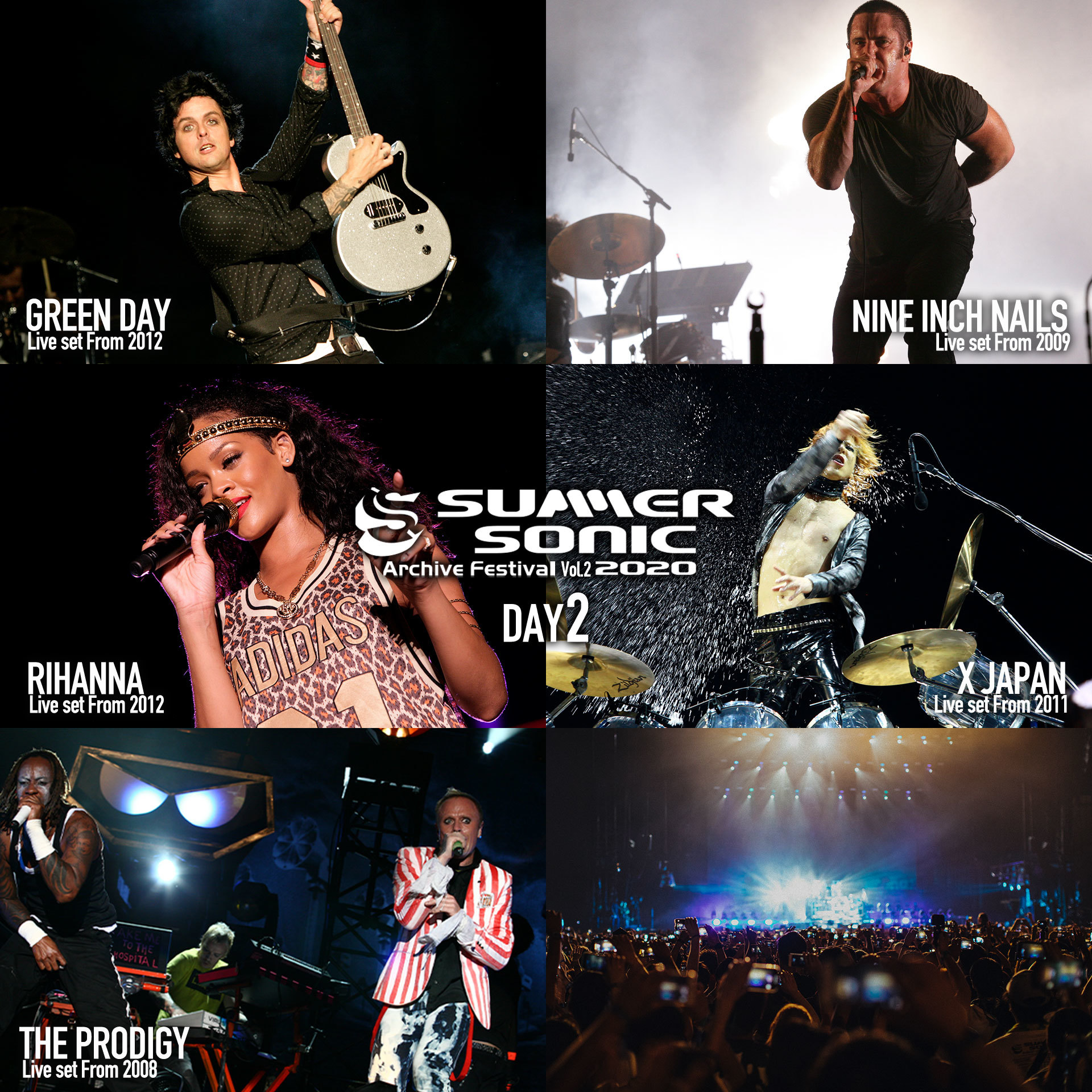 SUMMER SONIC 2020 ARCHIVE FESTIVAL-vol.2- Day2
