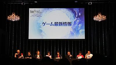 いちばん右が『Fate/Grand Order』第2部開発ディレクター・カノウヨシキ