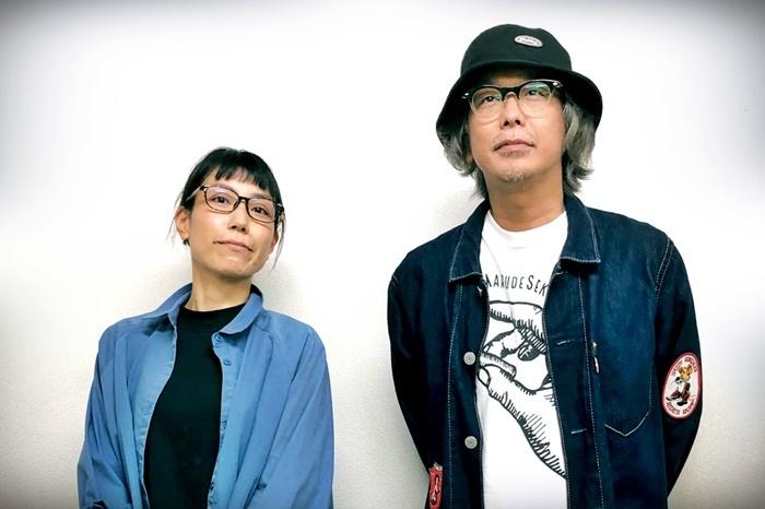 ばぶれるりぐる『いびしない愛』作・出演の竹田モモコ(左)、演出のチャーハン・ラモーン(右)。