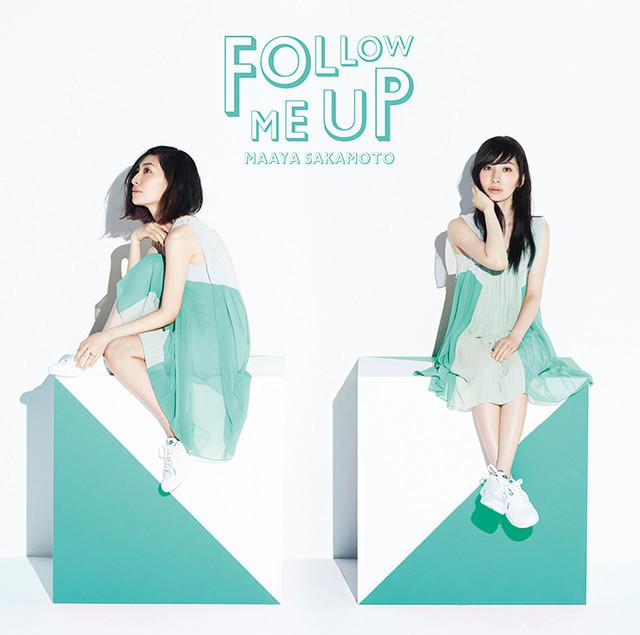 坂本真綾「FOLLOW ME UP」初回限定盤ジャケット