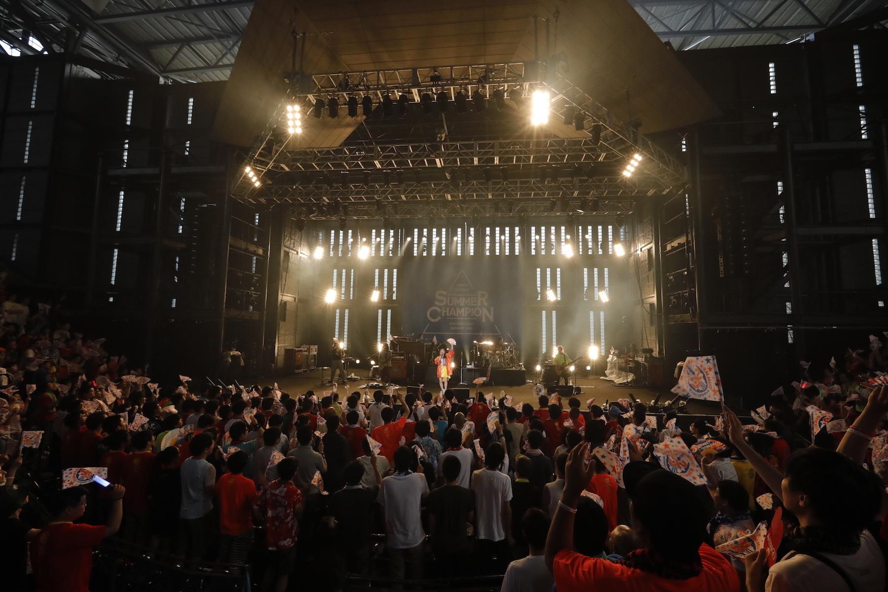 『SUMMER CHAMPION2019〜Minori Chihara 11th Summer Live〜』photo by 草刈雅之