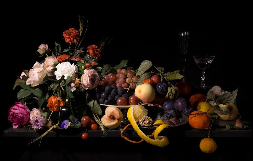 『餐』ジクレープリント 2018年 ©Mami Kosemura