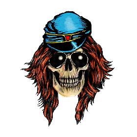 ガンズ・アンド・ローゼズ、アクセル・ローズの骸骨マークがTwitter Emojiに