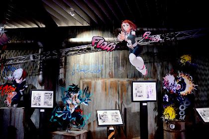 迫力の直筆原稿や堀越耕平氏描きおろしイラストが300枚以上展示 『僕のヒーローアカデミア展 DRAWING SMASH』内覧会レポート