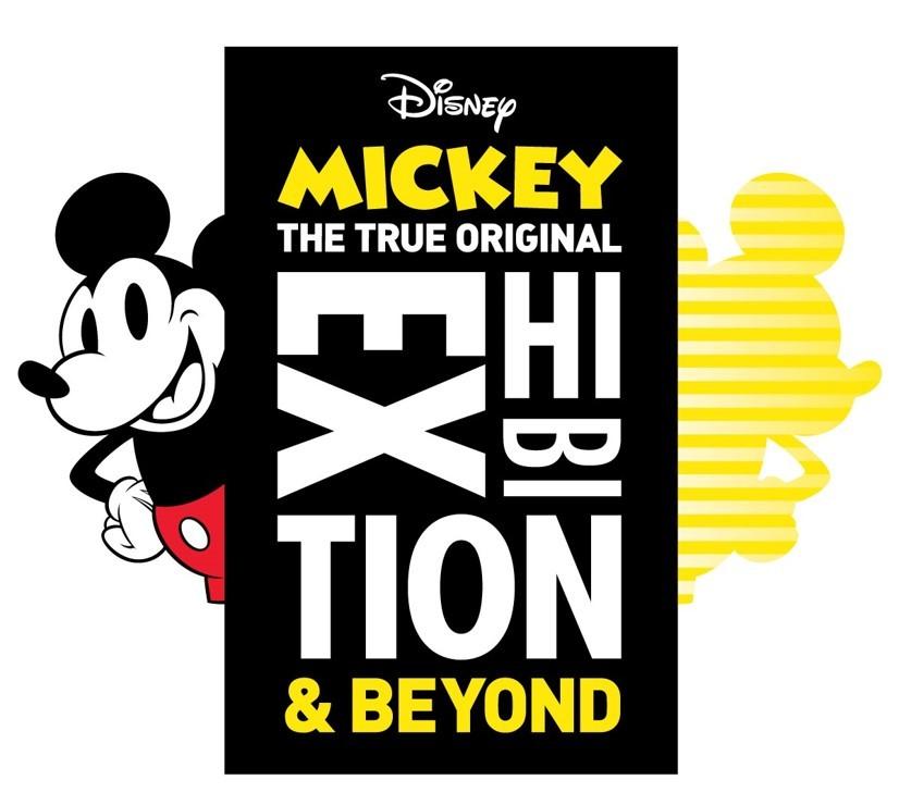 『ミッキーマウス展 THE TRUE ORIGINAL & BEYOND』キービジュアル (C)Disney
