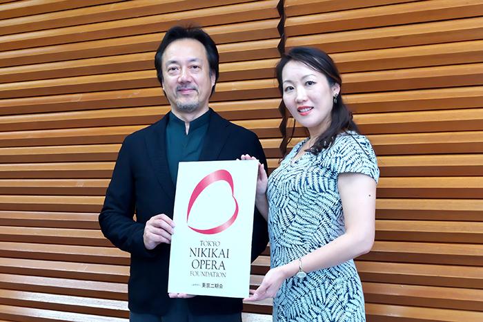 (左から)黒田博、森谷真理