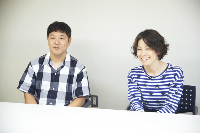 左から 竹井亮介、高田聖子