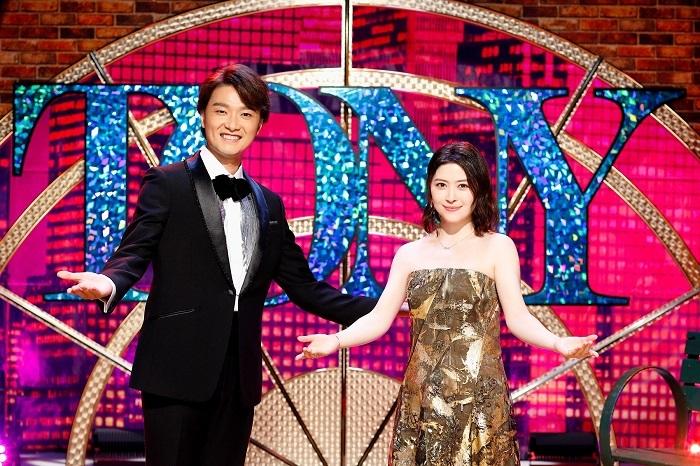 (左から)井上芳雄、宮澤エマ