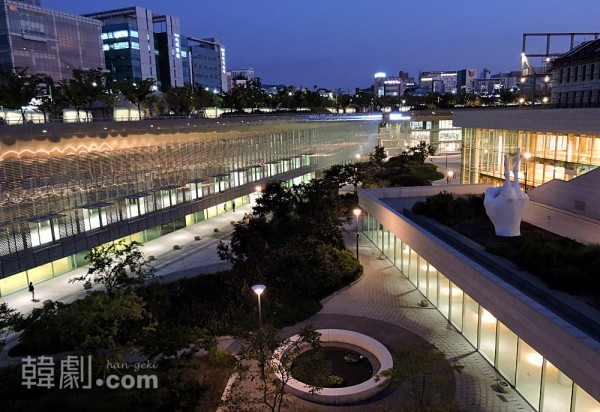 国立アジア文化殿堂全景 ©韓劇.com