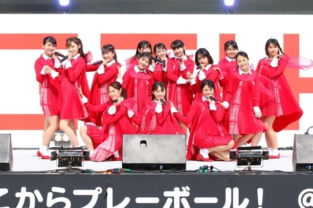 NGT48 『祝・メジャーデビュー!NGT48ここからプレーボール!@HARD OFF ECOスタジアム新潟』
