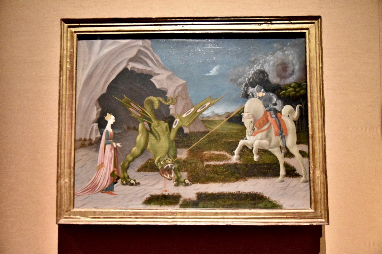 パオロ・ウッチェロ《聖ゲオルギウスと竜》1470年頃