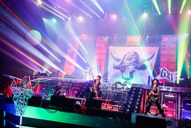 GRANRODEO「G11 ROCK☆SHOW -TRECAN PARTY」の様子。(撮影:キセキミチコ)