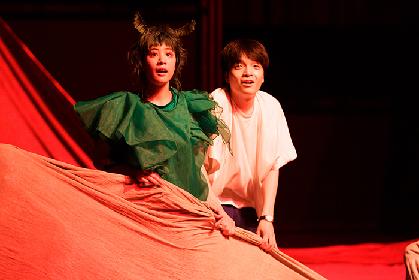 幻の童話作家の絵本を舞台化した『ビビを見た!』が開幕 岡山天音、石橋静河らのコメント&舞台写真が到着