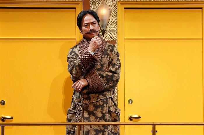 舞台版『オリエント急行殺人事件』ゲネプロより /撮影:岩田えり
