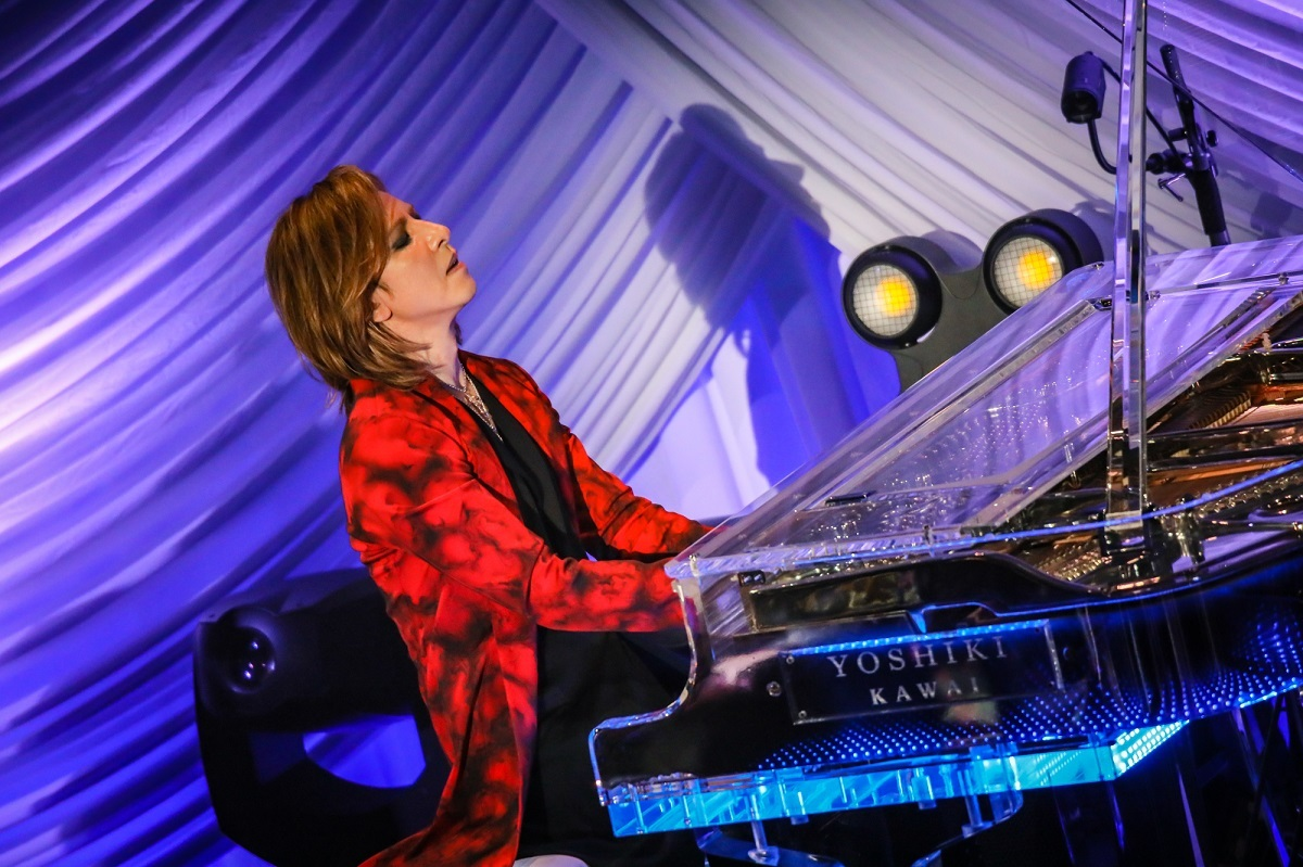 YOSHIKI『EVENING WITH YOSHIKI 2018 IN TOKYO JAPAN 6DAYS 5TH YEAR ANNIVERSARY SPECIAL』