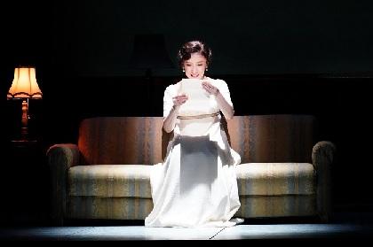 一路真輝&田代万里生の開幕コメントと舞台写真が到着 舞台『Op.110ベートーヴェン「不滅の恋人」への手紙』開幕