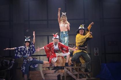 劇団王道の音楽劇を鮮やかに再演 劇団鹿殺し 活動20周年記念公演『キルミーアゲイン'21』公演レポート