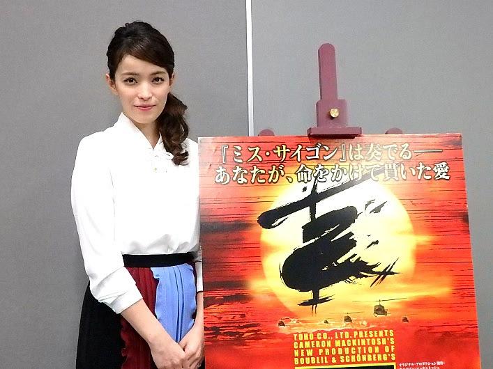 ミュージカル『ミス・サイゴン』合同取材会より知念里奈(撮影/石橋法子)